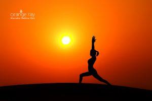 Orange Ray Yoga Therapy