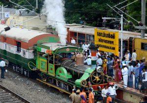 Orange Ray Heritage-Train-Kodambakkam