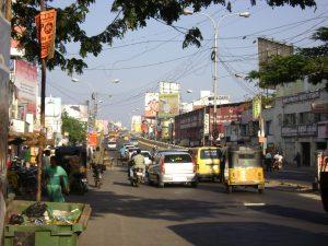 Orange ray Kodambakkam overbridge